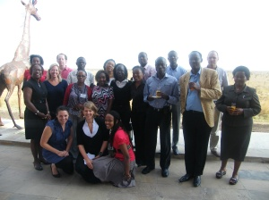 Participants at the African Science Cafe Network Workshop