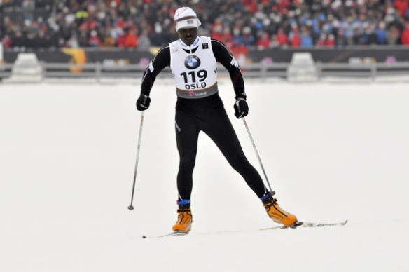 Philip Boit, Kenyan Cross Country Skier.